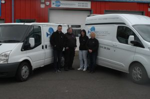 K G Key Services locksmith team