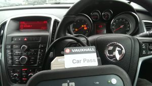 Vauxhall car key replacement